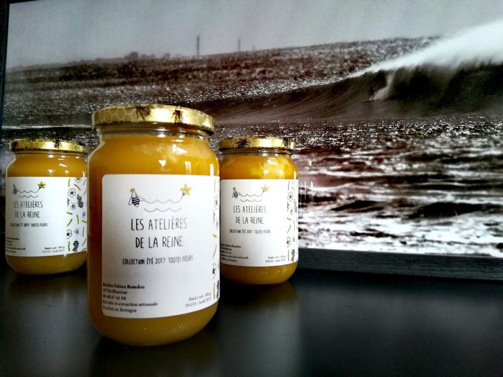 Les ruches de Fabien et Véronique - Les Atelières de la Reine - Plozévet - crédit photo Fabien Bourdon